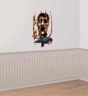 Severed Head Wall Decal - Field of Screams