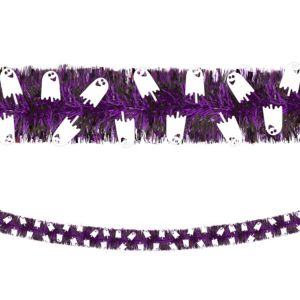 Ghost Boa Tinsel Garland