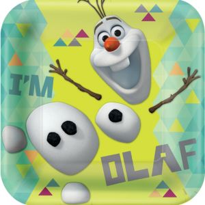 Olaf Lunch Plates 8ct - Frozen