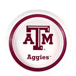 Texas A&M Aggies Dessert Plates 12ct