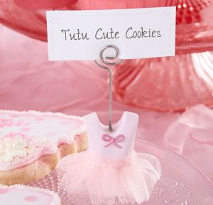 Tutu Place Card Holder