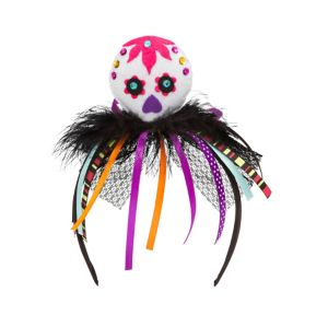 Child Sugar Skull Headband - Day of the Dead