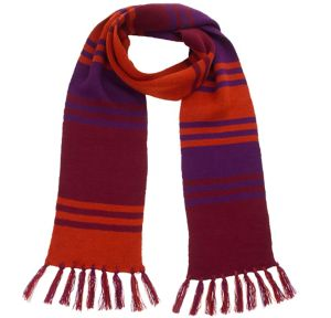 Orange & Purple Fourth Doctor Scarf - Doctor Who