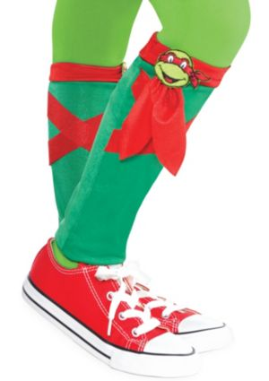 Child Raphael Leg Warmers - Teenage Mutant Ninja Turtles