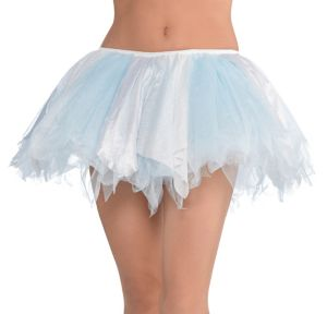 Ice Princess Shimmer White & Blue Tutu Deluxe