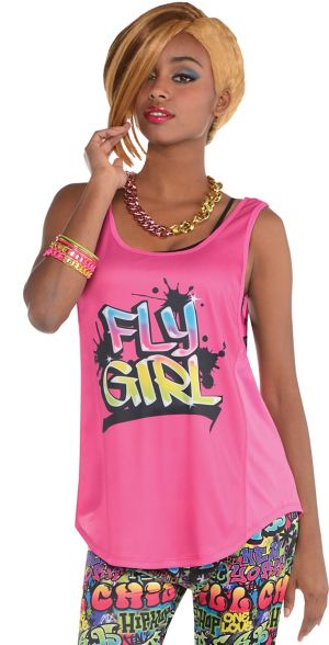 Pink Hip Hop Tank Top
