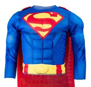 Child Superman Muscle Costume Accessory Kit 2pc