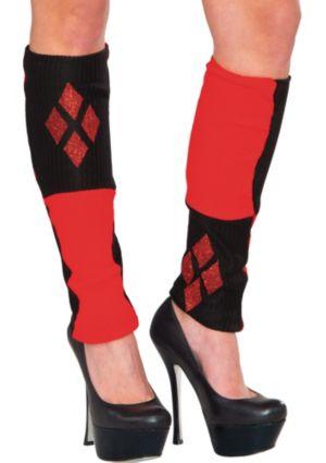 Harley Quinn Leg Warmers - Batman
