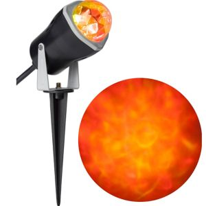 Red Yellow Kaleidoscope Spotlight