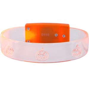 Light-Up Jack-o'-Lantern Bracelet