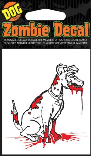 Zombie Dog Family Car Decal