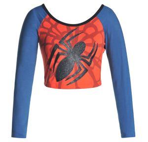 Spider-Girl Crop Top