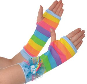 Child Rainbow Dash Arm Warmers - My Little Pony