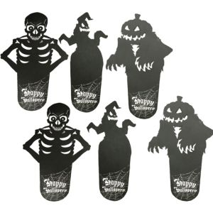 Scary Shadow Coasters 6ct