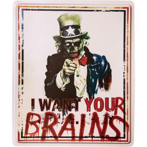 Zombie Uncle Sam Sign