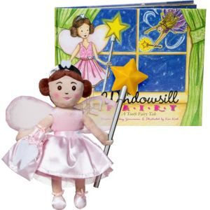 The Windowsill Tooth Fairy Doll with Storybook