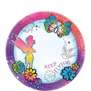 Keep Flying Tinker Bell Dessert Plates 8ct