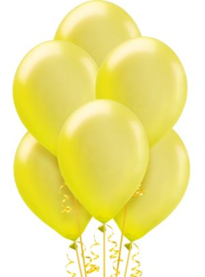 Yellow Pearl Balloons 72ct