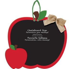 Apple Chalkboard Sign