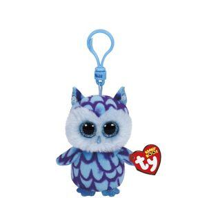 Clip-On Oscar Beanie Boo Owl Plush