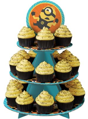 Minion Cupcake Stand - Minions Movie