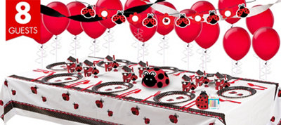 Fancy Ladybug Party Supplies Super Party Kit