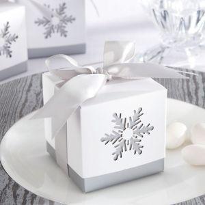 Snowflake Favor Boxes