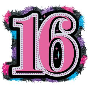 Celebrate Sweet 16 Pinata