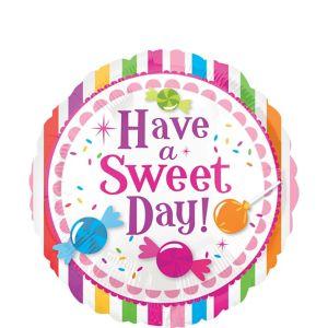 Candy Stripe Balloon - Sweet Shop