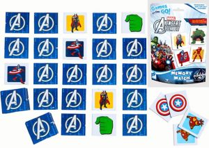 Avengers Memory Match Game Bag