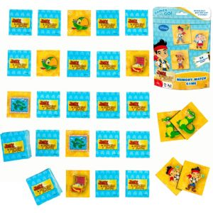 Jake and the Never Land Pirates Memory Match Game Bag
