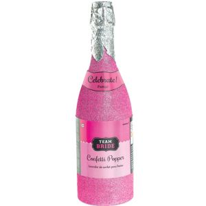 Team Bride Bottle Confetti Popper
