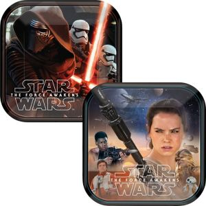 Star Wars 7 The Force Awakens Dessert Plates 8ct