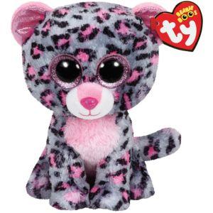 Tasha Beanie Boo Leopard Plush