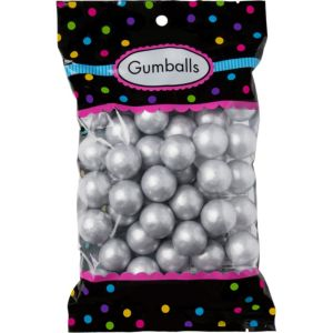 Silver Gumballs 48pc