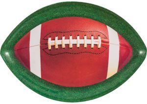 Football Oval Platter
