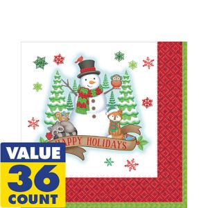 Winter Friends Lunch Napkins 36ct
