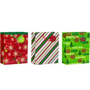 Winter Wishes Christmas Gift Bags 3ct