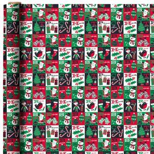 Christmas Alphabet Gift Wrap
