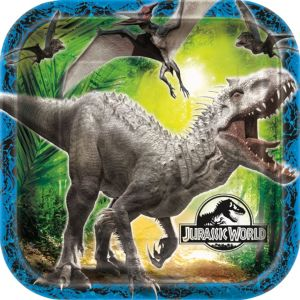 Jurassic World Lunch Plates 8ct