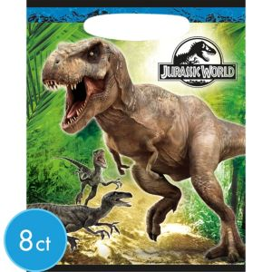 Jurassic World Favor Bags 8ct