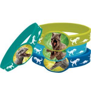 Jurassic World Wristbands 4ct