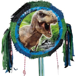 Pull String Jurassic World Pinata