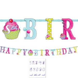 Birthday Sweets Banner Kit