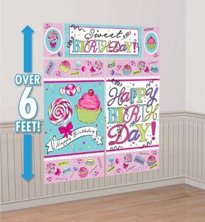 Birthday Sweets Scene Setter