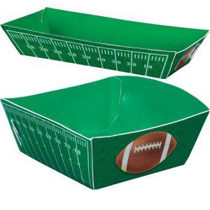 Football Field Paper Food Trays 16ct