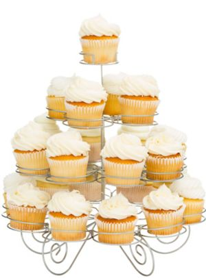 4 Tier Cupcake Wire Stand