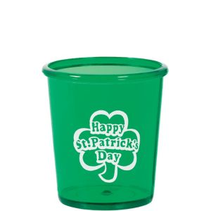 St. Patrick's Day Shot Glass