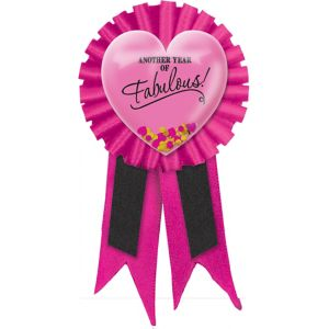 Another Year of Fabulous Birthday Award Ribbon