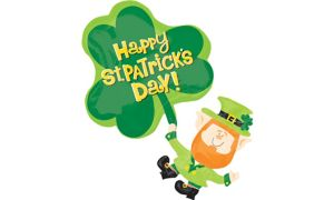 St. Patrick's Day Balloon - Lucky Leprechaun